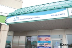 Custom Fascia Sign in Brampton