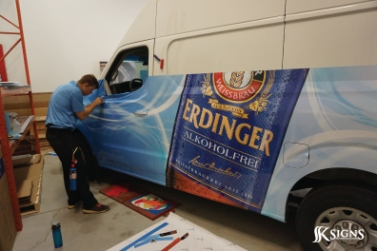 Installation of Vehicle Wrap for McClelland Premium Imports in Mississauga