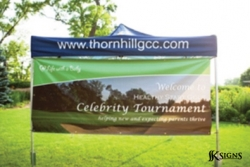 Outdoor Banner for a Charity Event