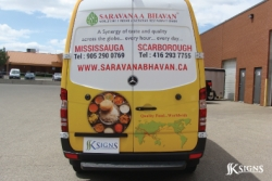 Vehicle Graphic Installed in Mississauga