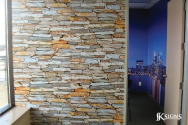 SSK Signs Rock Wallpaper - Digitally Printed