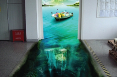 Custom Floor Graphics