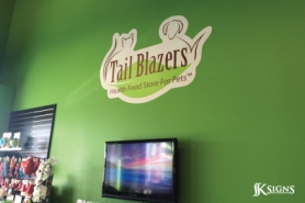 Custom Printed Logo on Interior in Etobicoke