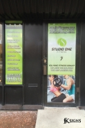 Studio One Fitness- Window Graphics