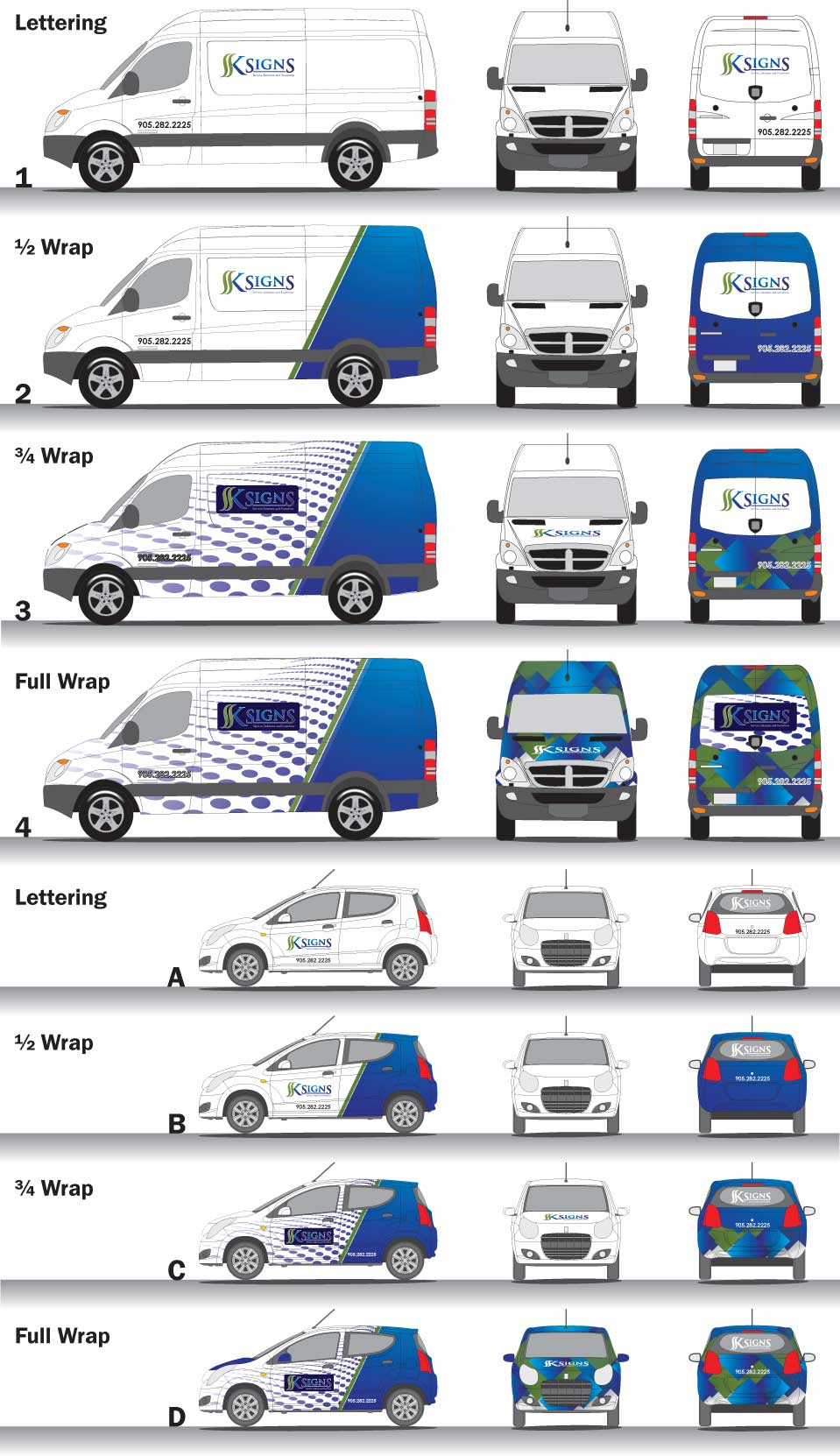 Vehicle Wrap Stages