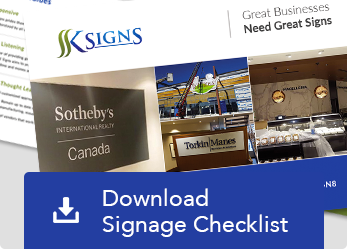 Download Signage Checklist