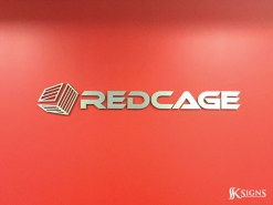 Lobby Sign for Redcage in Mississauga