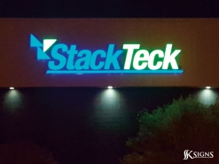 Channel Letters for StackTeck in Brampton