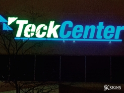 LED Channel Letters for TeckCenter