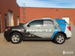 Vehicle Graphics for Royal Chev in Orangeville