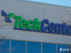 Custom Channel Letters for TeckCenter in Brampton, ON