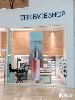 Window Graphics at The Face Shop