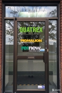 Window Graphics Installed for Quatrex