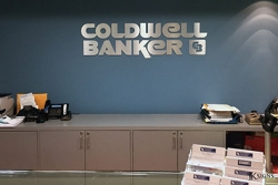 Lobby Sign Installed for Coldwell Bankers
