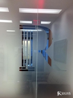 Rubicon Frosted Glass in Toronto