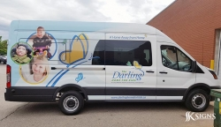 Van Wrap for Darling Home for Kids