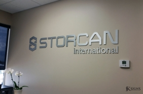 Lobby Sign for Storcan