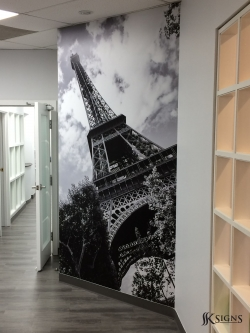 Custom Wall Graphics for Tomken Dental in Mississauga