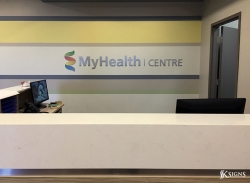 Lobby Sign for My Health Centre in Mississauga