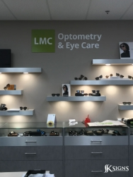 3D Letters Installed for LMC Healthcare