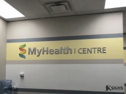 Dimensional Letters Installed for My Health Centre