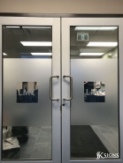 Etched Glass for LMC Healthcare