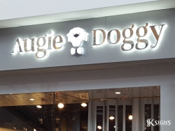 Channel Letters for Augie Doggy