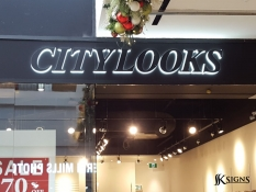 Halo Lit Letters for City Looks