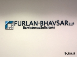 Dimensional Letters for Furlan Bhavsar