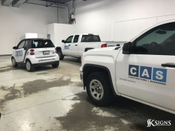 Vehicle Decals for CAS in Mississauga