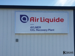 Lightbox for Air Liquide in Aylmer