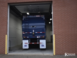 SSK Signs Mississauga Fleet Graphics Installation Bay