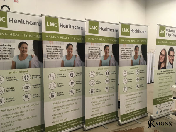 Roll up banners for LMC