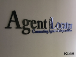 Lobby Sign For Agent Locator