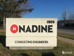 Outdoor Ground Signs For Nadine in Mississauga, ON