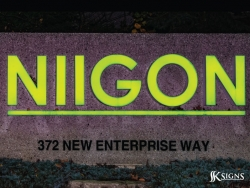 Niigon Lit Channel Letters